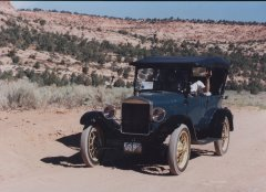 Our Model T Ford in the Utah Desert