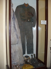 John McCain's flight suit in Vietnam