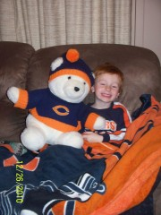 Watching Da Bears!