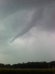 Surprise! Funnel Cloud Morton
