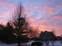 12/23/10 December morning sunrise