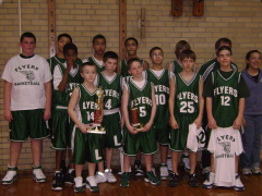Lindbergh Middle School Flyers 2nd place in the league, 3rd in the city of peoria!!!