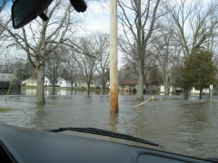 Pontiac Flood Waters