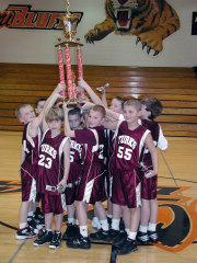 3rd Grade Turks win Glasford Tournament
