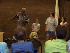 LaRon Williams at Pekin Library