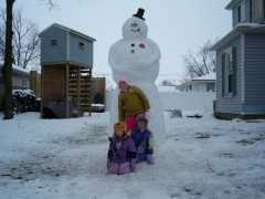 The Elmwood Snowman!