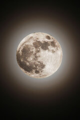 Super Moon at 10:35 p.m. on May 5th