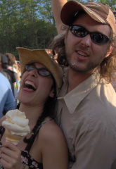 Ice Cream Cools Down the Music Festival