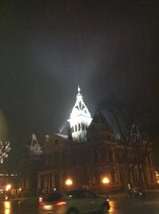 Courthouse in the Snow!