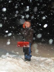Add Snow= A Happy Child!