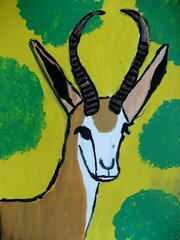 The Gazing Gazelle