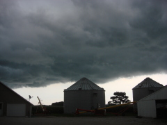 Storm Clouds on Kerber farm Chatsworth