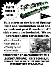 East Peo Community Springfield Road Sale