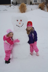 Friendly Snowman