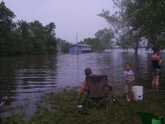 Fishing in the Floods