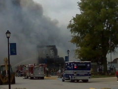 Mackinaw IGA burns to the ground