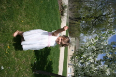 Madilynn dressed for Spring