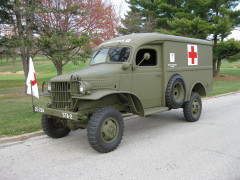 1941 WWII Dodge ambulance