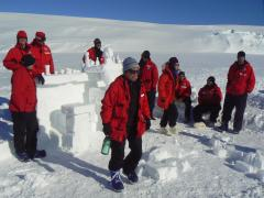 Surviving in Antarctica