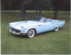 1957 T-Bird - A 50-Yr Dream Come True