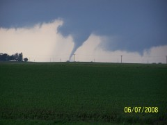 Tornado North of Odell