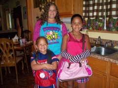 The Strong Kids: De'Asia, Ana, Edwinn Jr