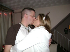 Kissing in the new year!!