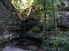Starved Rock water