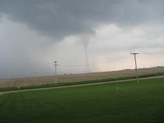 Tornado West of Princeville Today 5/25