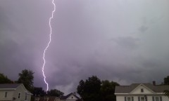 Lightning strike 6-21-11