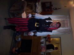 The real peg leg Peoria Pirate!!!!