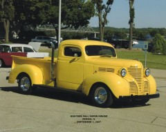 1940 plymouth P T 105 pickup
