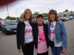 3 Generations Supporting Breast Cancer