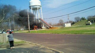 St. Patrick's Day Truck Fire in Pekin
