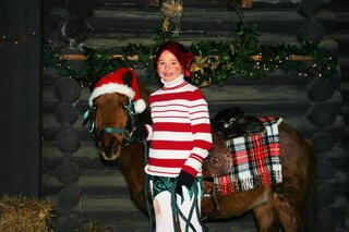 Charlie the Christmas Pony