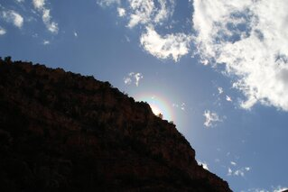 Rainbow in Verde Canyon
