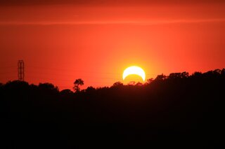 Partial Solar Eclipse May 20 2012