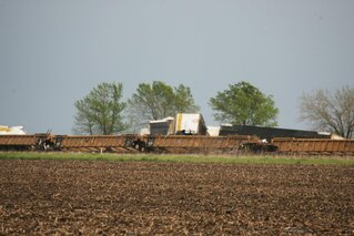 Train Derailment East of Toluca