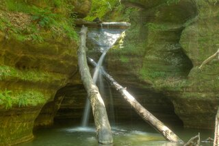 Starved Rock Kaskaskia Canyon
