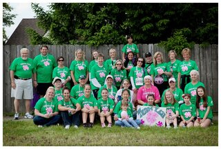 Pink Shamrocks-Team Lisa