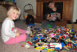Bring on the snow, We've got legos!