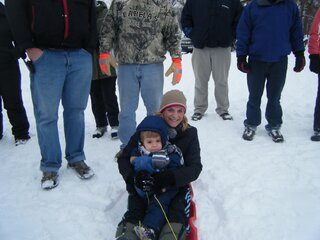 Kinnary Family Sledding!