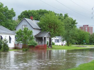 Flashflood--West Street Galesburg IL