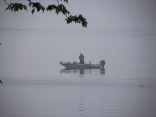 Fishin in the fog