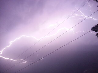 Lightning in Pekin