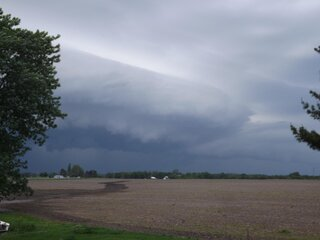 storm rolling in at 5:45 pm 5-30-13