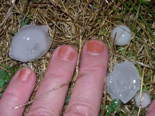 Hopedale Hail: Up Close & Personal