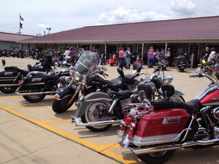 Motorcyclists turn out for cause