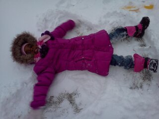 Our Little Snow Angel!!
