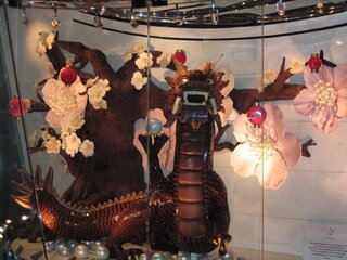 pure chocolate dragon & tree